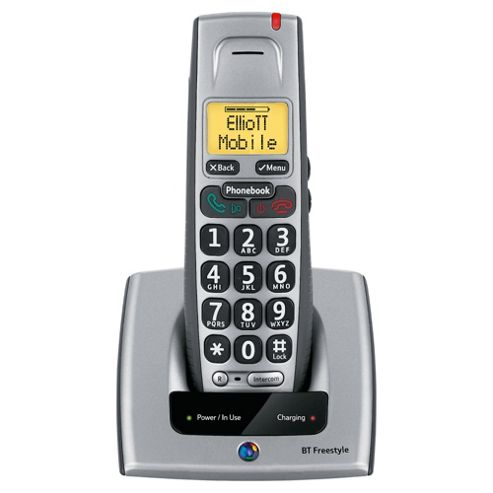 BT Freestyle 710 single cordless Telephone