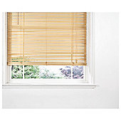Wood Venetian Blind, 25Mm Slats, Pure Natural 150Cm