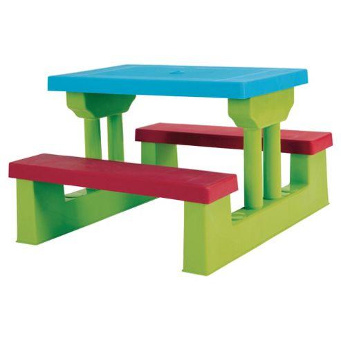 Culcita Kiddie Plastic Garden Bench Set