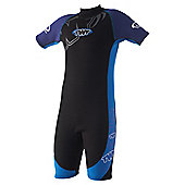 TWF Wetsuit Shortie Kids' age 2/3 Bright blue