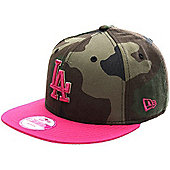 New Era Cap Co Cam Pop Snap LA Dodgers Snapback Cap - Multi