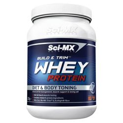 Sci-MX Build & Trim Whey Protein 1.05kg Chocolate