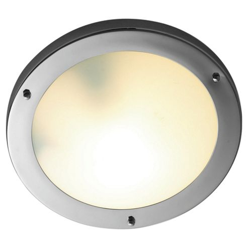 Brilliant Buy Tesco Lighting 3 Light Round Cylinder Bathroom Ceiling Fitting