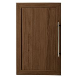Fraser Single Door (Only) for 3 Shelf Bookcase, Walnut-effect