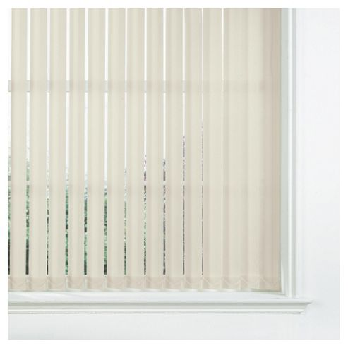 Sunflex Vertical Blind Cream 122x137