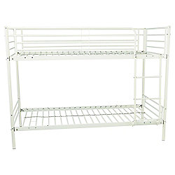 Mika Shorty Bunk Bed Frame White