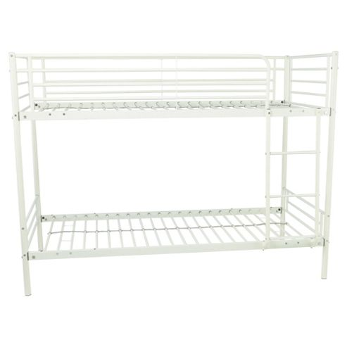 Buy Mika Shorty Metal Frame Bunk Bed White From Our Mid