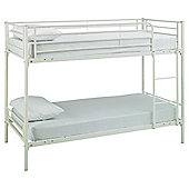 Mika Shorty Bunk Bed Frame, Vanilla