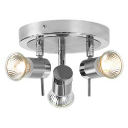 Tesco Lighting 3 Light Bathroom Ceiling Light