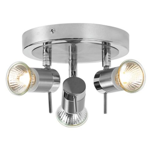 Buy Tesco Lighting 3 Light Bathroom Ceiling Light From Our Novelty Lighting Range Tesco