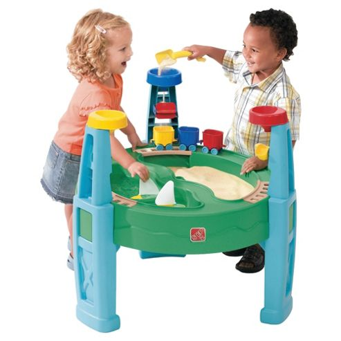 Step2 Transportation Station Sand & Water Play Table