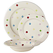 Tesco Circus 12 Piece, 4 Person Dinner Set.