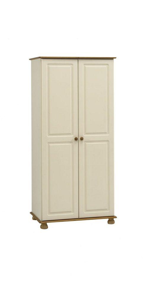 Woodbury 2 Door Wardrobe, White
