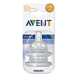 Philips Avent Feeding Teats x 2 Fast
