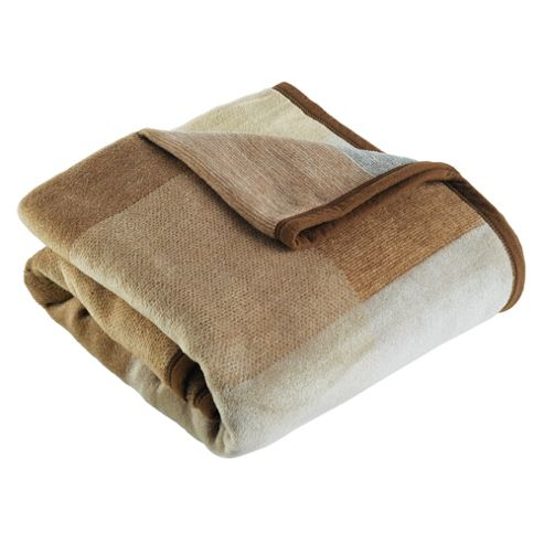 Biederlack Thermosoft Square Throw, Natural