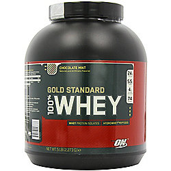 Optimum Nutrition 100% Whey Protein 2.27kg - Chocolate Mint