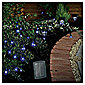 50 Berry Blue LED Solar Line Light