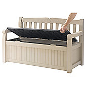 Keter Plastic Storage Bench