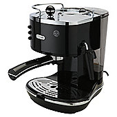 DeLonghi  15 Bar Pump Espresso Coffee Machine - Black