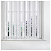 Vertical Blind White W122Xdrop229Cm