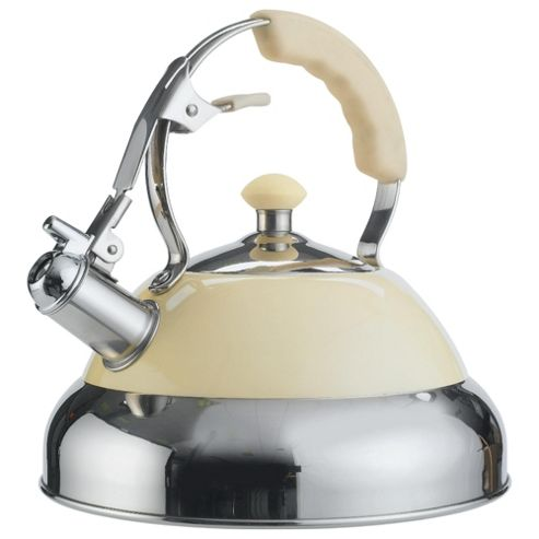 Wesco Stove Top Kettle, Cream