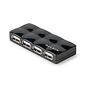 Belkin 4 Port Mobile USB 2.0 Hub (Black)