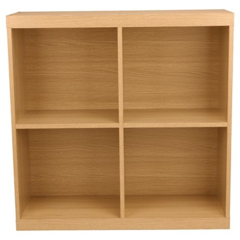 Seattle Open Storage Cube, Oak-effect