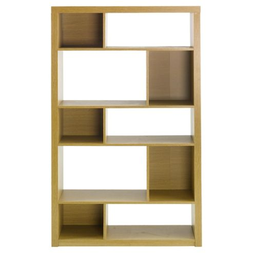 Seattle Bookcase, Oak-effect