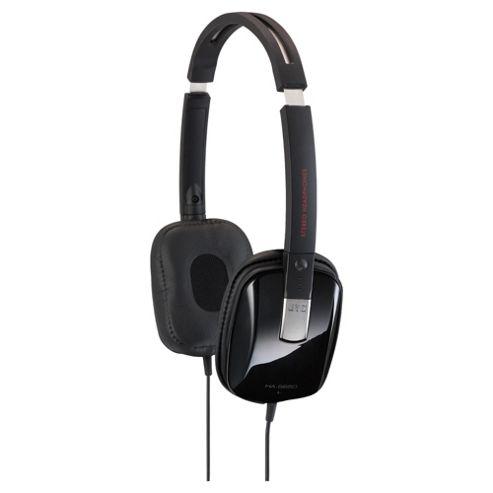 JVC Carbon Integrated Headphones Black HA-S650