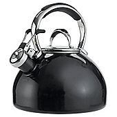 Prestige 2L Enamel Stove Top Kettle, Black