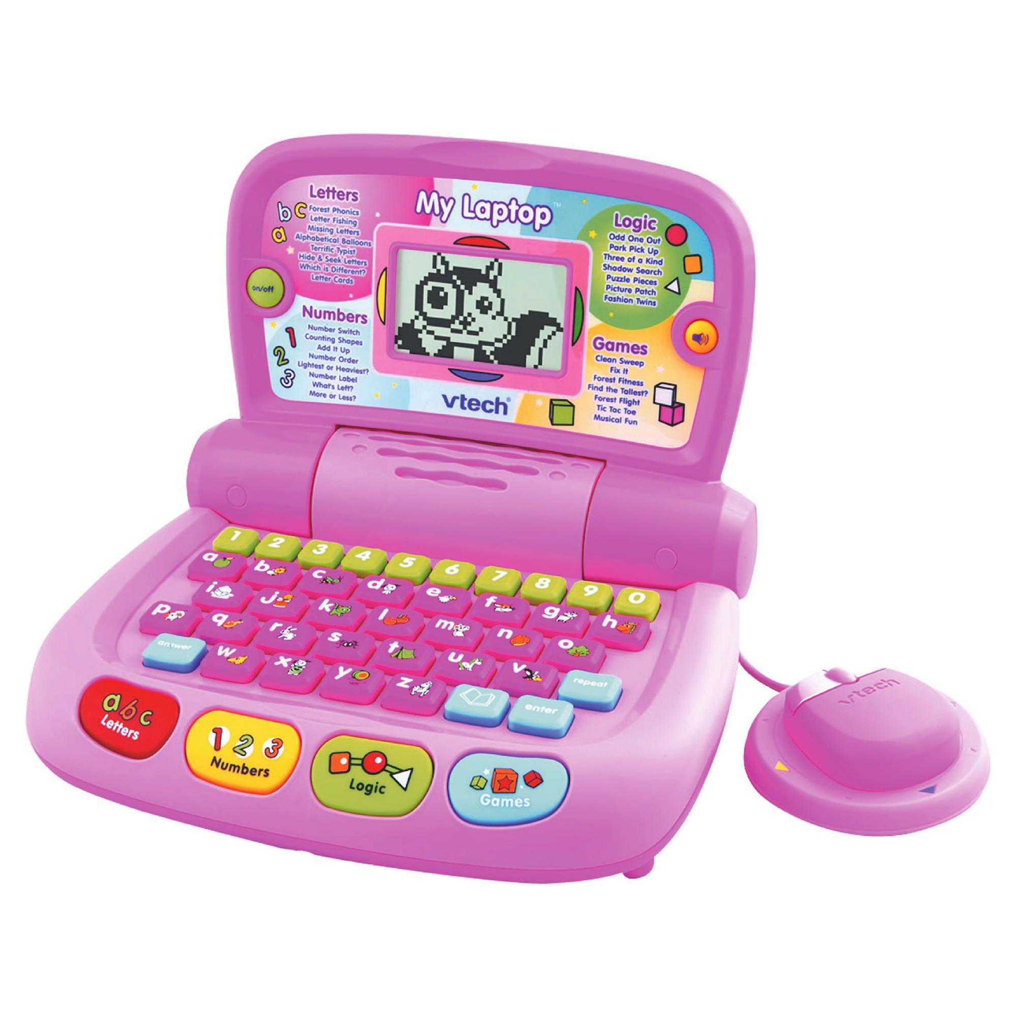 vtech my laptop pink instructions