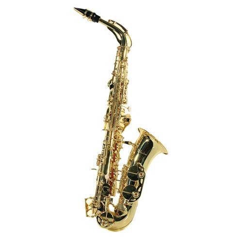 Windsor MI-1005 Alto Saxophone with carry case Gold Lacquer