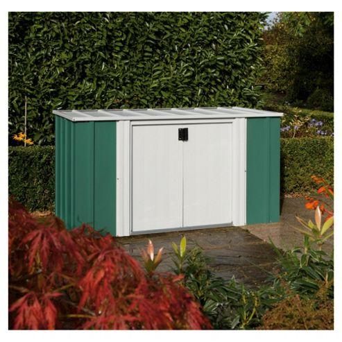 Buy rowlinson metal storette from our utility sheds range for Garden shed tesco