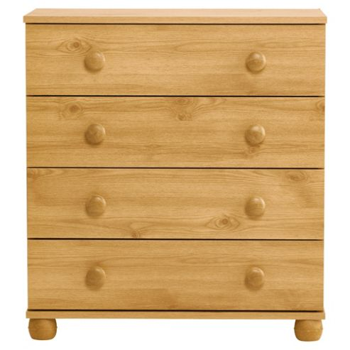 Addison 4 Drawer Chest, Pine Effect