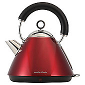 Morphy Richards 43772 Accents Traditional Kettle, 1.5L - Red