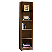 Fraser 5 Shelf Bookcase, Walnut-Effect