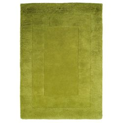Tesco Rugs Tiered Wool Rug, Green 150x240cm