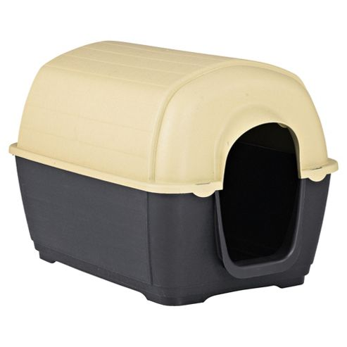 Plastic dog kennel large