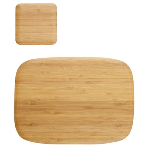 Tesco Vertical Bamboo Set of 4 Placemats and Coasters