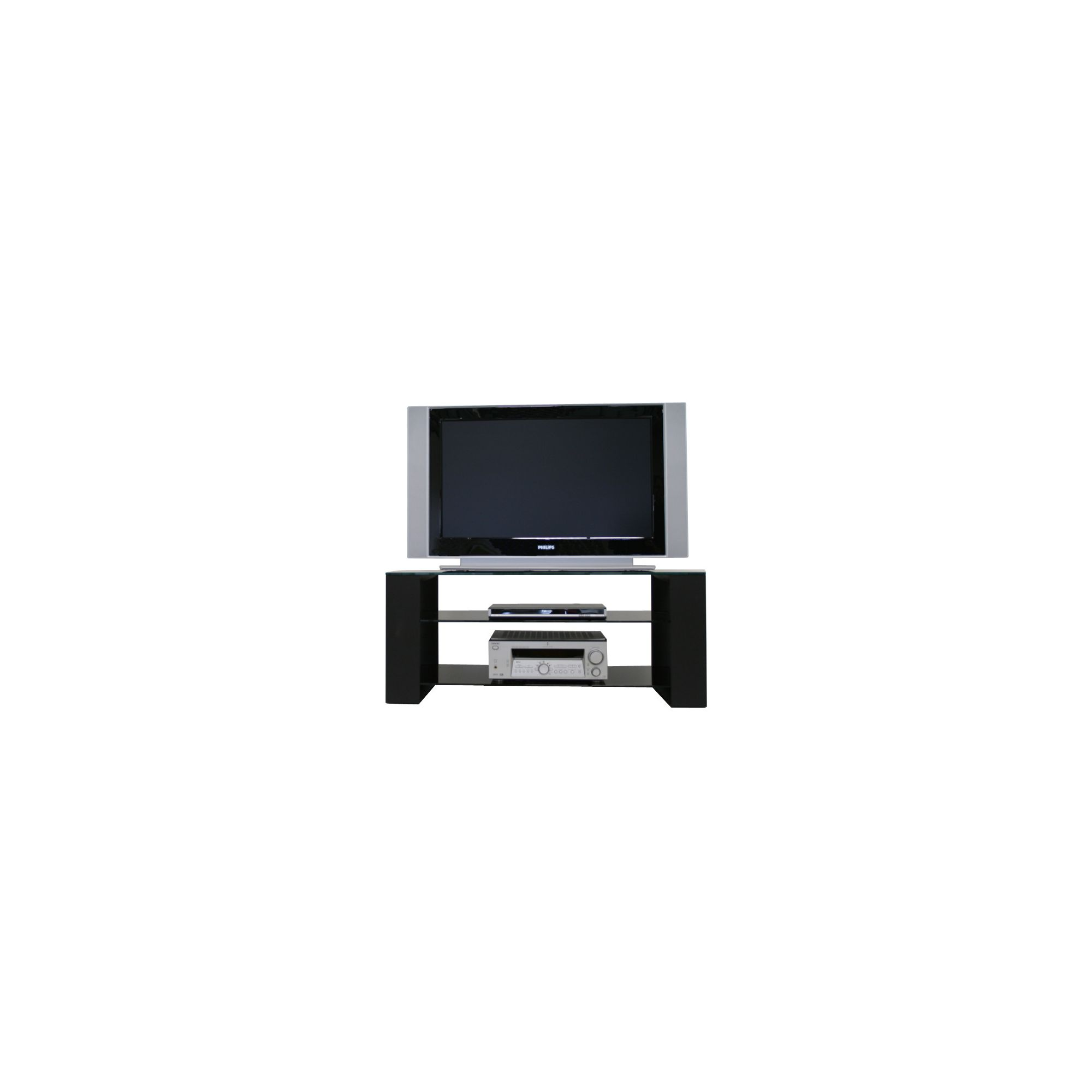 Mor AV Series Glass TV Stand at Tesco Direct