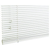 Wood Venetian Blind, 25Mm Slats, Pure Chalk 105Cm