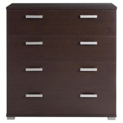 Fresno 4 Drawer Chest, Wenge-Effect