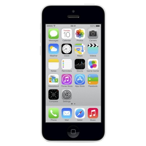 Tesco Mobile Apple iPhone 5c 8GB White