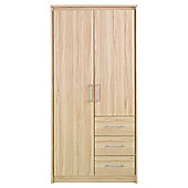 Parisot Kurt Two Door Wardrobe in Canyon Beech