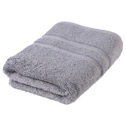 Tesco Bath Towel, Silver