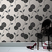 Superfresco Pippa Wallpaper - Black and White