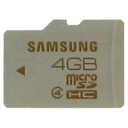 Samsung MB-MS4G/EU Micro SD Card 4GB