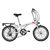 "Lombardo Compact Alloy 20"" Adults' Folding Bike"