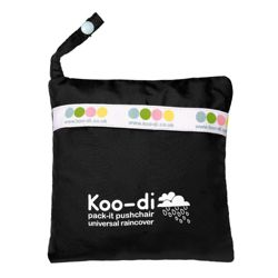 Koo-di Pack It Rain Cover Black