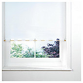 Turret Roller Blind, White 60Cm